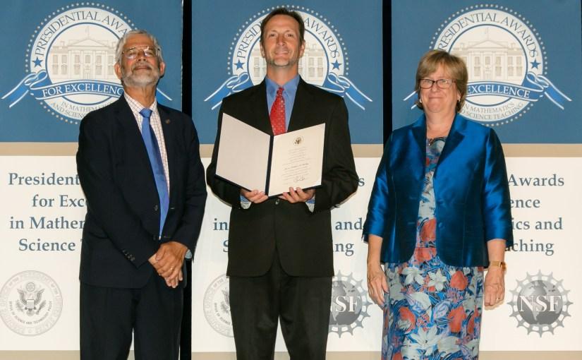 A Scientific Journey: Camp CBG Teacher Jim O'Malley Wins Presidential Award