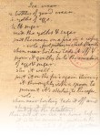PHOTO: Jefferson's vanilla ice cream recipe: Holograph, 1780s. Manuscript Division, Library of Congress.