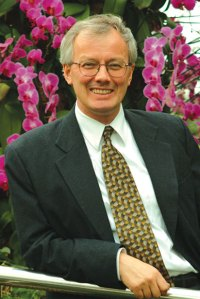 PHOTO: Guest columnist and Garden board member Peter Crane, Ph.D.