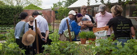 PHOTO: Learn sustainable gardening techniques and more from a variety of experts around the Garden on World Environment Day.