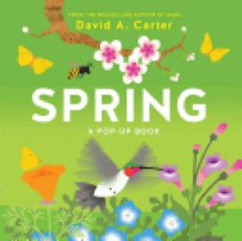 Book: Spring: A Pop-Up Book by David A. Carter.