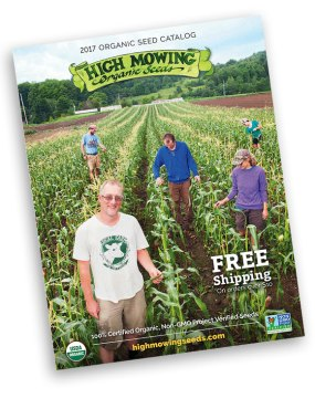 High Mowing seed catalog