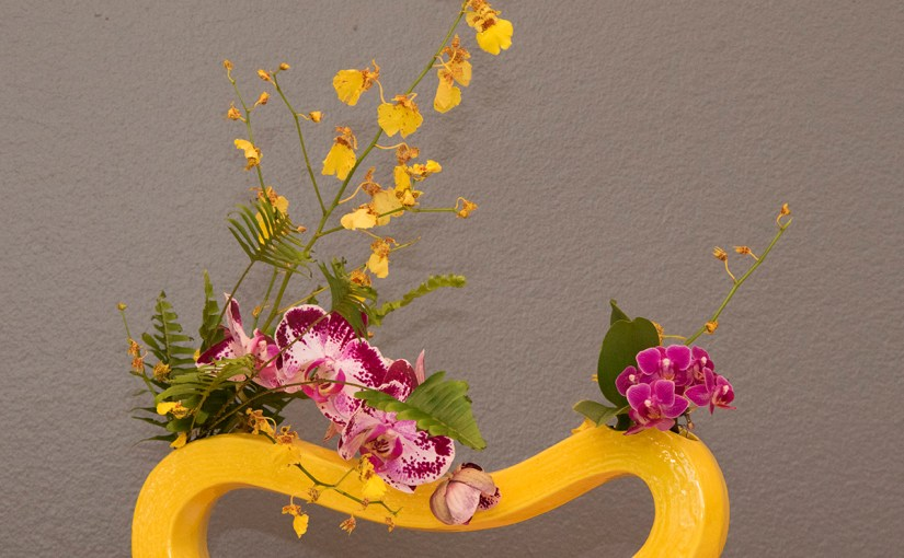 The Beauty of Orchids in Ikebana