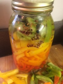 PHOTO: pickled peppers.