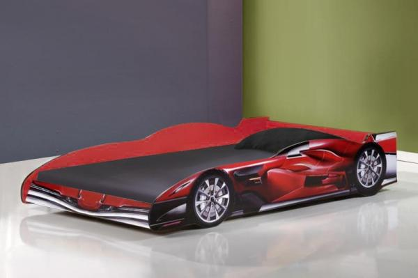 Racing Car Bed Jenson 3ft Single In Red Mattress Choice