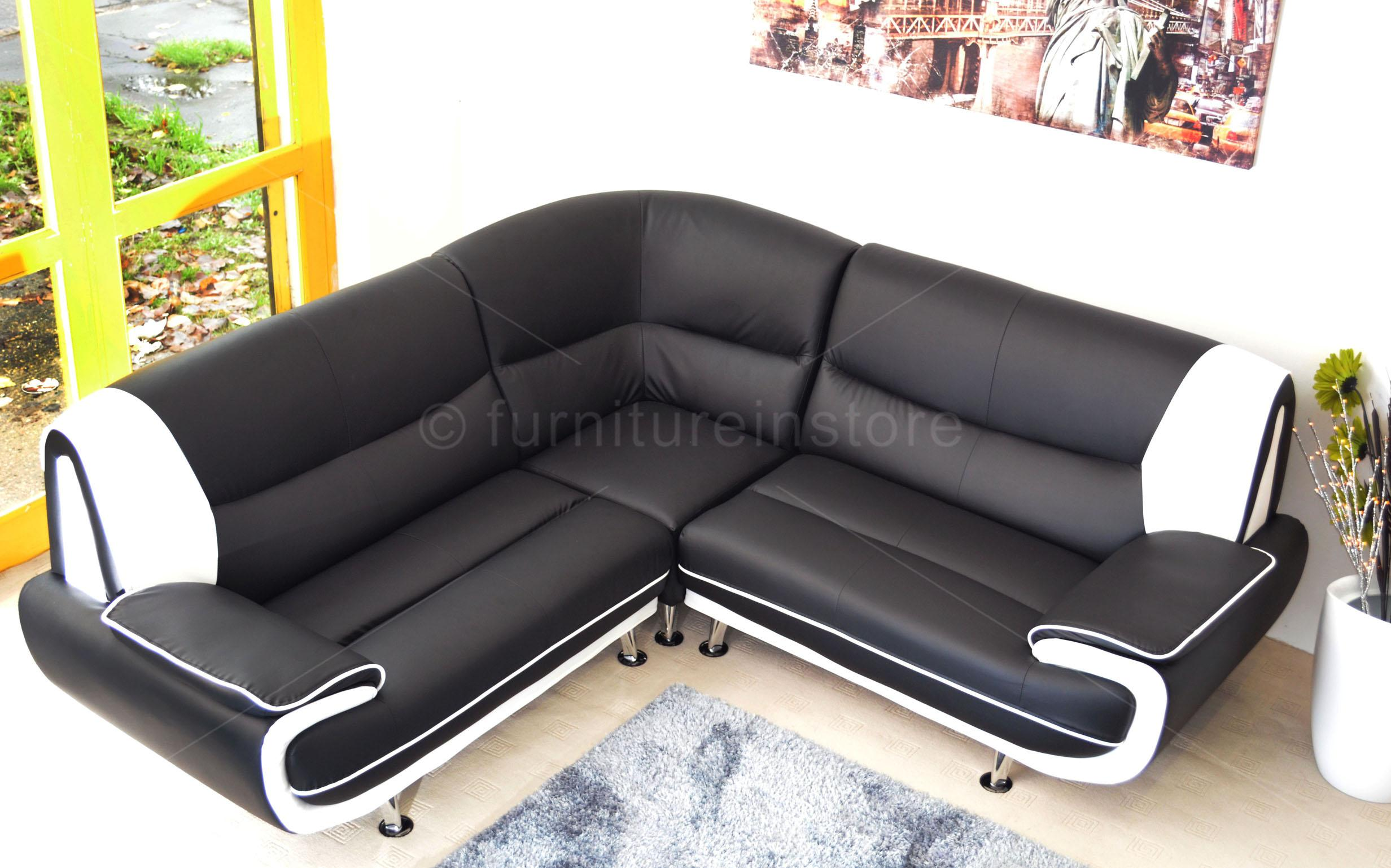 ebay used corner sofa bed 8 wide table faux leather passero sofas setttee