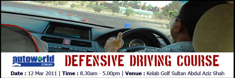 Autoworld Defensive Driving Course (12 Mar 2011)