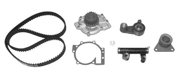 1994 Volvo 960 2.9L Water Pump And Timing Belt Kit / Tensioner