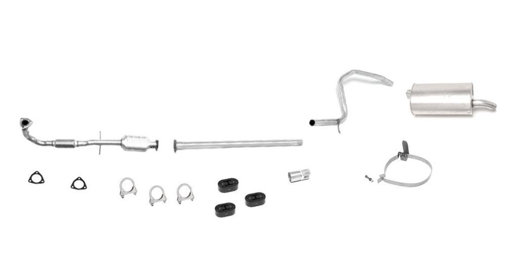 Saturn S Series SOHC Flex Pipe Converter & Muffler Exhaust