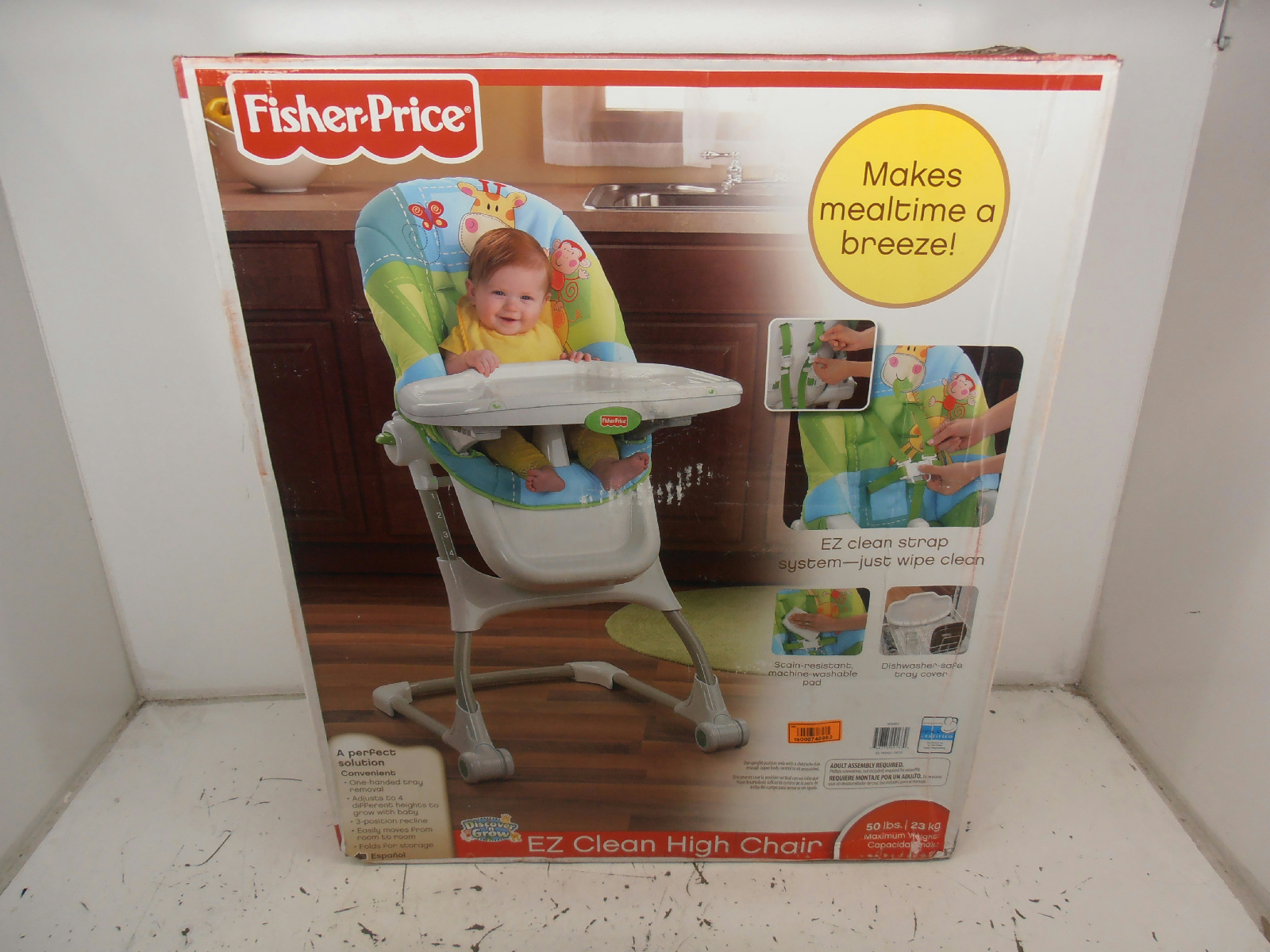 High Chair Fisher Price Fisher Price Discover 39n Grow Ez Clean High Chair 99