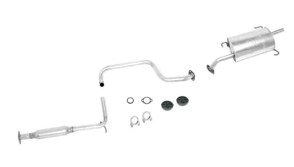 Muffler Exhaust Pipe System Fits Nissan Sentra 200SX 1.6L