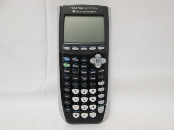 TI-84 Plus Silver Calculator