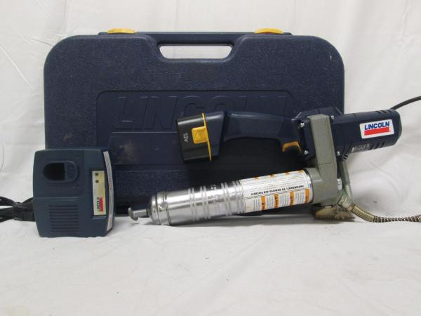 Lincoln Series Powerluber 1200 Cordless Grease Gun 12