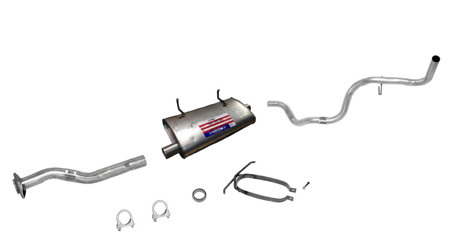 98-00 Ranger 2.5L 3.0L 4.0L 118 Wheel Base Muffler Exhaust