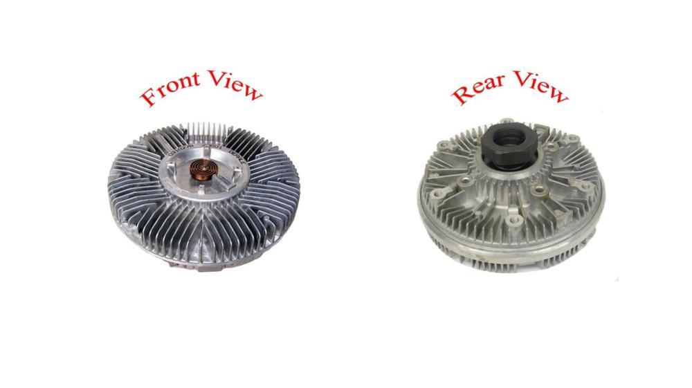 medium resolution of ford trucks 6 9l 7 3l diesel new us motor works 22601 engine cooling fan clutch