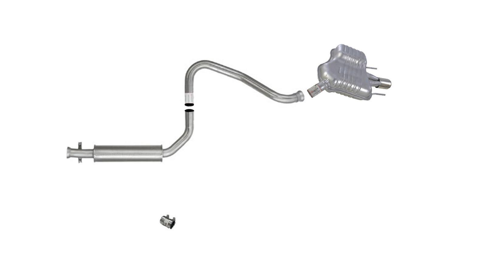 Auto Brand Muffler Exhaust Pipe System