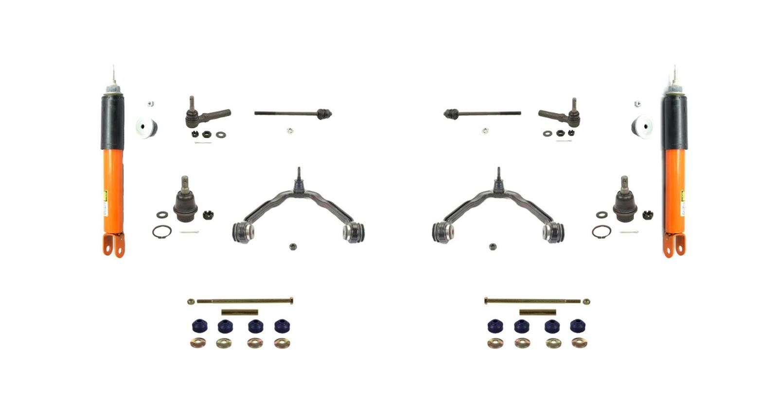 2 Monroe Electronic Front Shocks With Chassis Kit