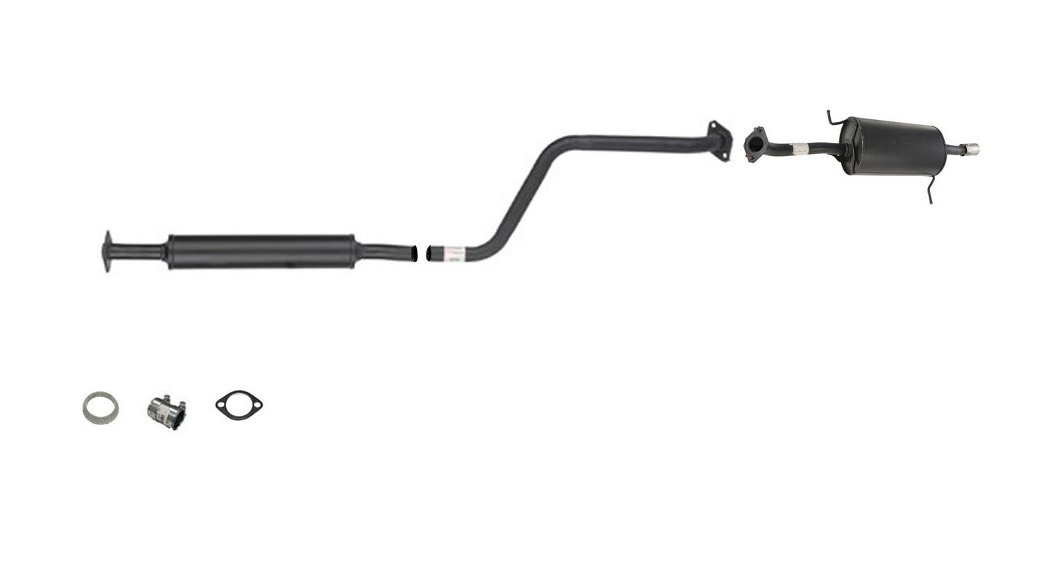 Muffler Exhaust Pipe System With Gasket