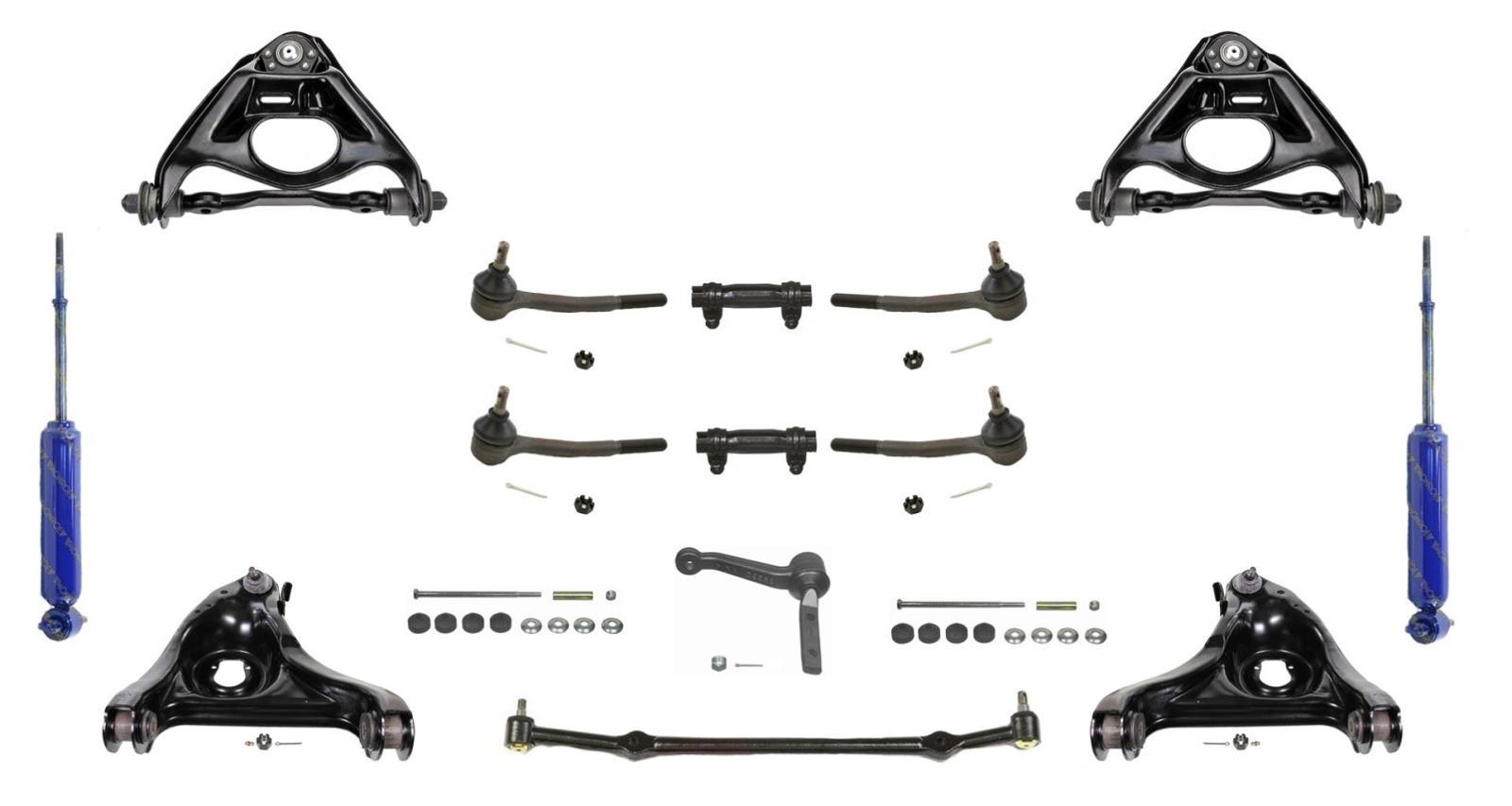 Gm Cars Rwd 4 Suspension Control Arm Center Link Tie