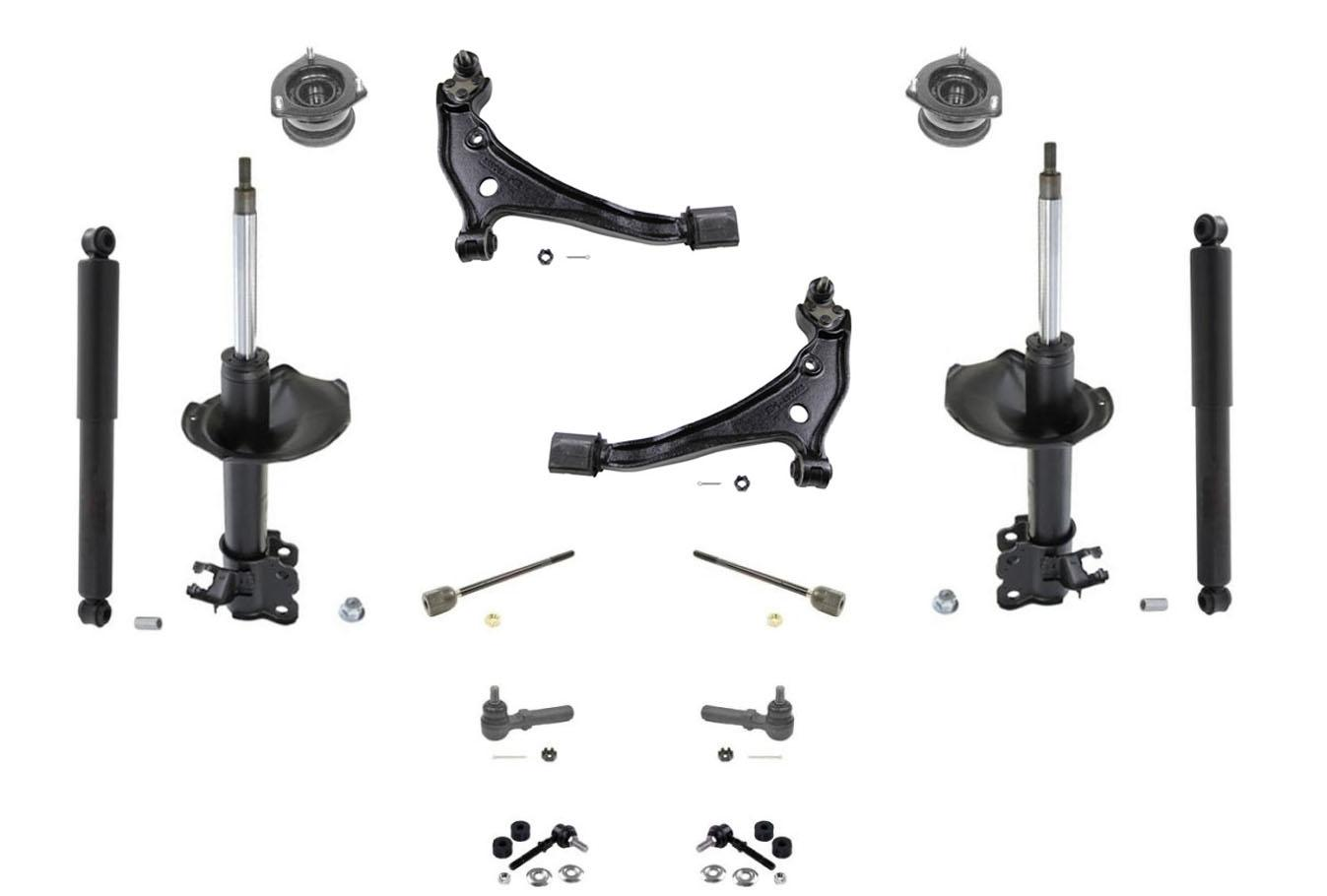 Quest Amp Villager Front Struts Control Arms Ball Joints Tie
