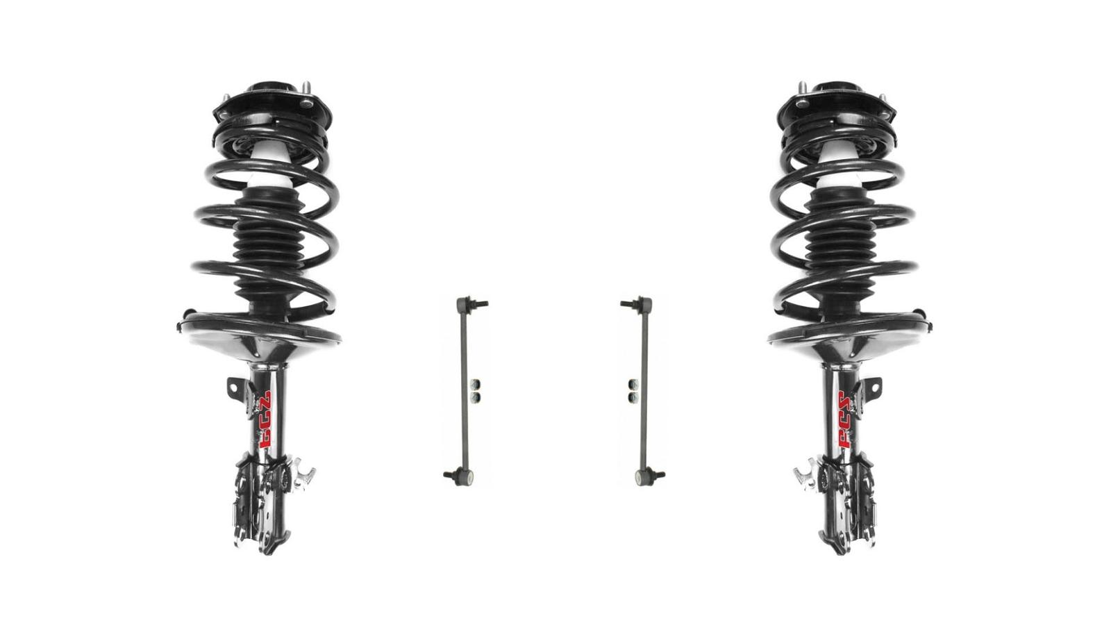 97-01 Camry 2.2 99-03 Solara (2) L & R Front Quick Spring