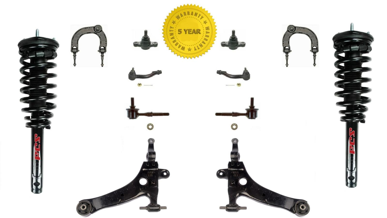 Fits 02 05 Sonata Coil Spring Struts Lower Control Arm
