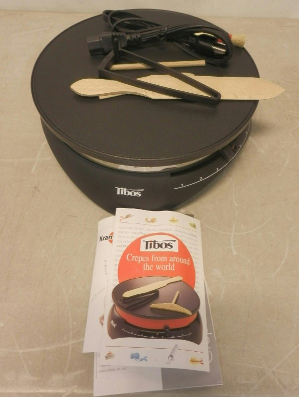 Tibos 13 Krampouz Electric Crepe Maker