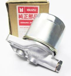 new isuzu fuel filter housing with filter bracket mount adapter 8 94153850 0 [ 1217 x 913 Pixel ]