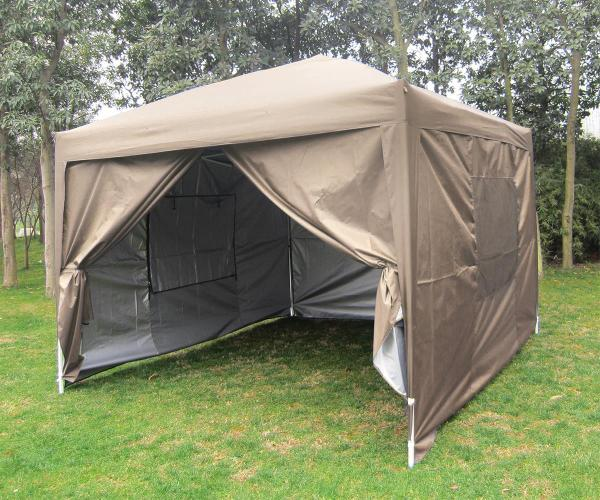 Quictent Privacy 10'x10'screen Curtain Pop Party Tent Canopy Gazebo-7 Colors