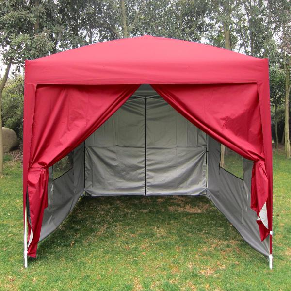 Quictent Privacy 8x8'screen Curtain Ez Pop Party Tent