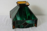 Vintage Tiffany Style Stain Glass Lamp Shade | eBay