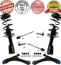 details about front control arm suspension steering 10pc kit for cavalier sunfire 2000 2005 [ 943 x 943 Pixel ]