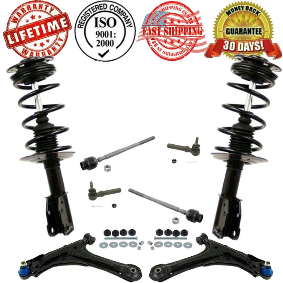 medium resolution of details about front control arm suspension steering 10pc kit for cavalier sunfire 2000 2005