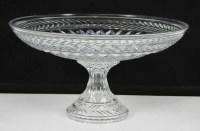 Shannon Ireland Cut Crystal Compote Dish Large | eBay