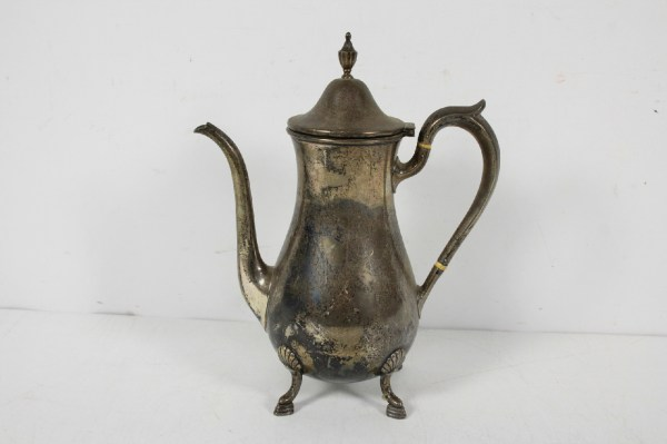Antique Shreve & Sterling Silver 1 3 4 Pint Teapot
