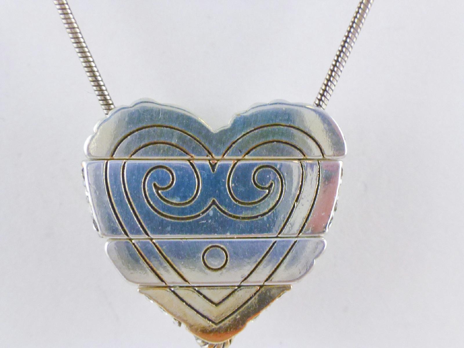 Brighton Heart Pendant And Chain