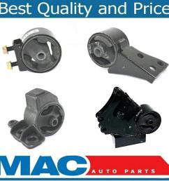 details about engine transmission mount kit for kia sephia 1 8l manual transmission 98 00 [ 1177 x 1011 Pixel ]