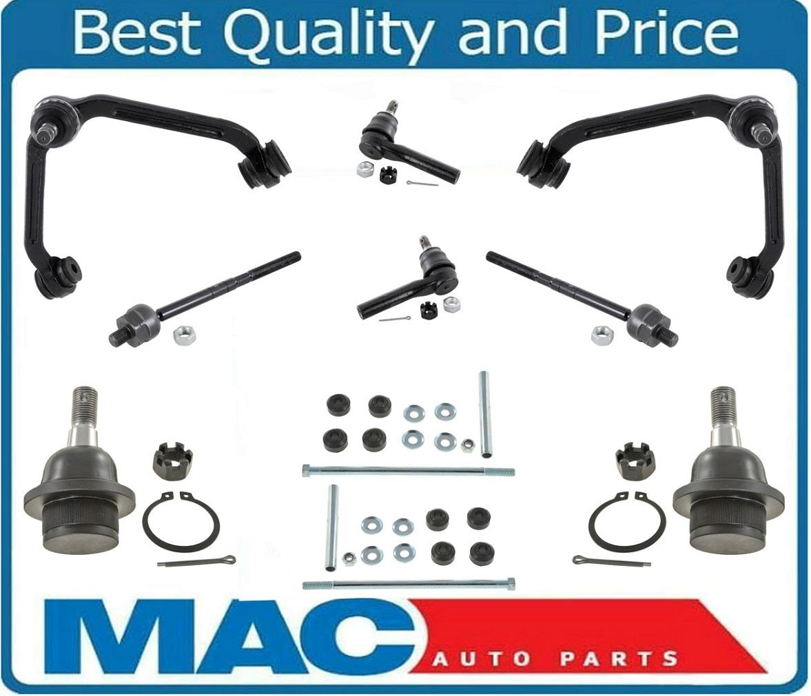 hight resolution of 10 pc kit for 1998 2001 ford explorer upper control arm ball joint tie rod