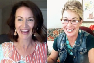 How to have time for yourself when you're a mom. Carol talking about mindset with a Type 1 woman