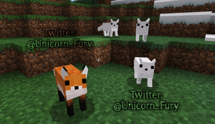 Cuter Vanilla Animals Resource Pack Added Parrots Minecraft Pe Texture Packs
