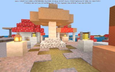 Mushroom Village 1 11 Only Concepts Minecraft PE Maps