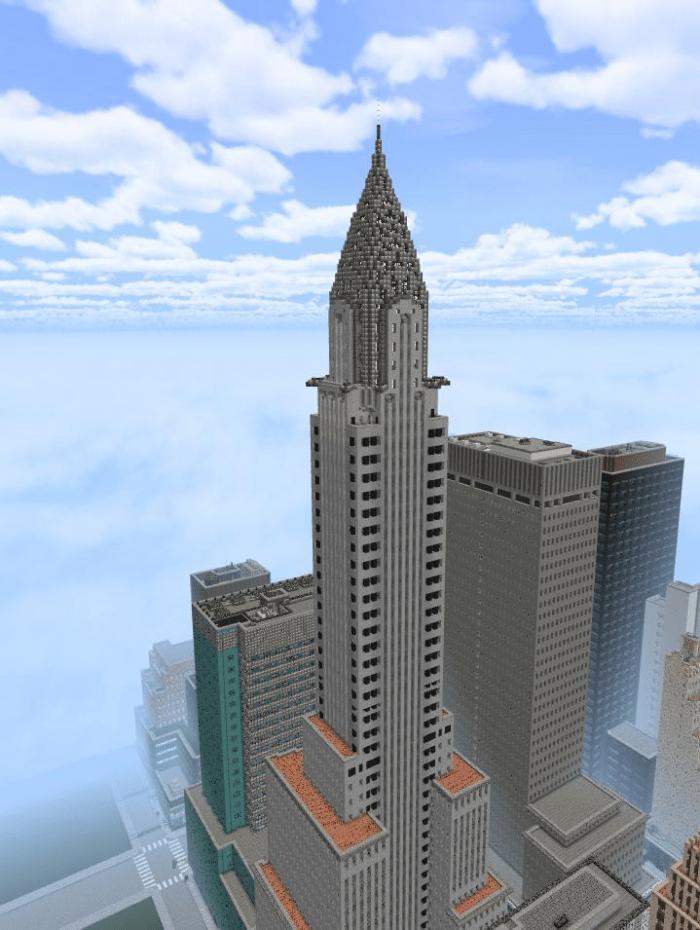 Minecraft New York City Map : minecraft, Midtown, Manhattan,, (Marvel, Edition), Minecraft