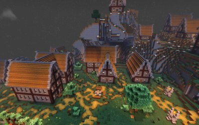 Keragard Medieval City Minecraft PE Maps