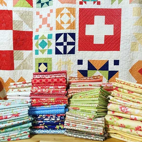 CT Susan Ache SS Checklist Stack of Fabrics