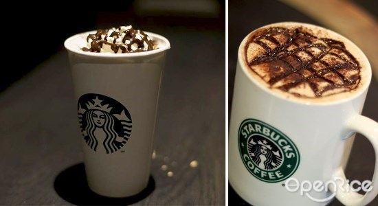 starbucks, 星巴克, 8 best starbucks drinks, 最受欢迎的星巴克饮料