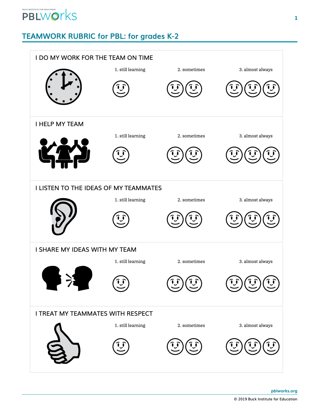 hight resolution of Teamwork Worksheet For Work   Printable Worksheets and Activities for  Teachers