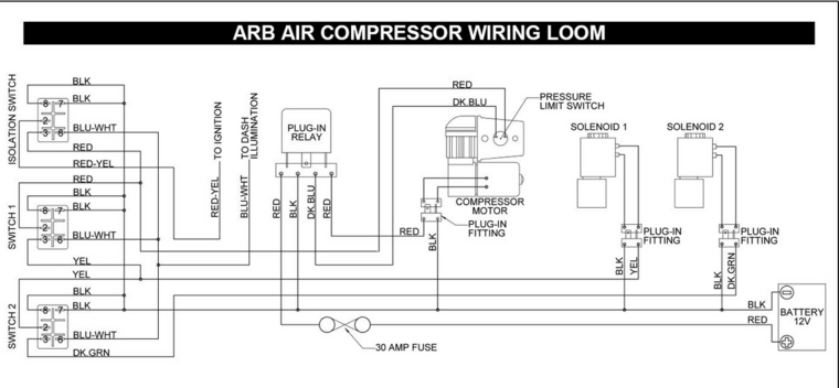 trail tech wiring diagram danfoss vlt hvac arb lockers - jk-forum.com the top destination for jeep jk wrangler news, rumors, and discussion