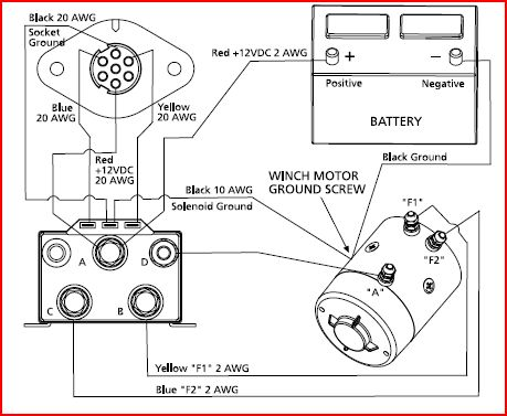 Help With In Cab Winch Control For Superwinch Schematic Inside