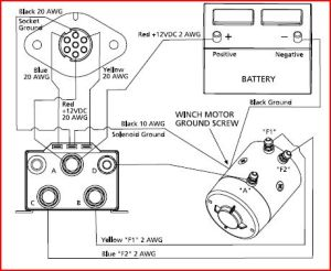 Help with in cab winch control for Superwinch Schematic