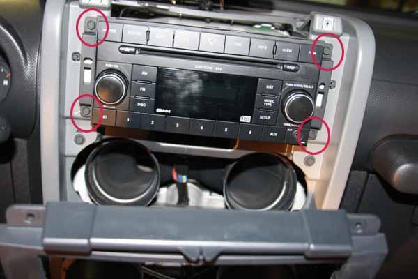 2000 Jeep Wrangler Radio Wiring Harness